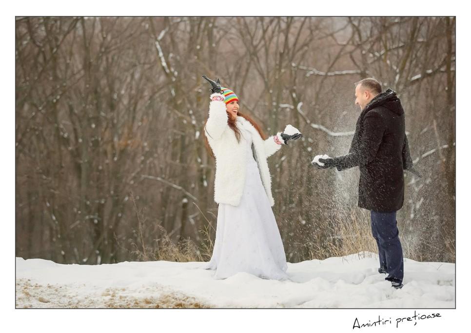 sedinta foto de iarna